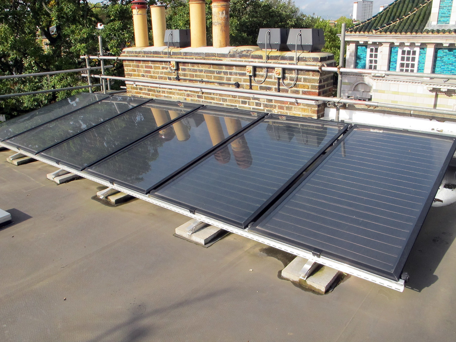 Genersys flat plate solar thermal collector